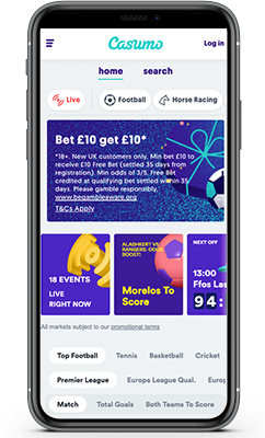 A Full Review of Betting Options at Casumo Sportsbook India